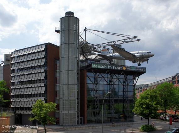 Немецкий технологический музей в Берлине
