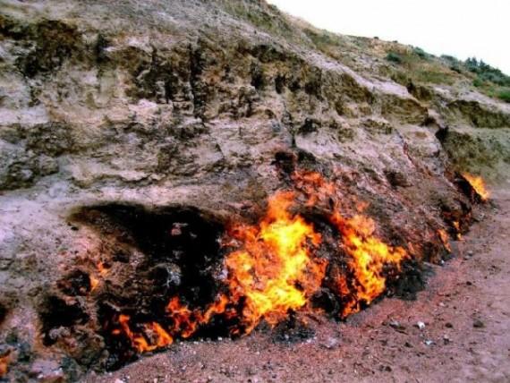 Гора Янарташ - огненная гора в Кемере