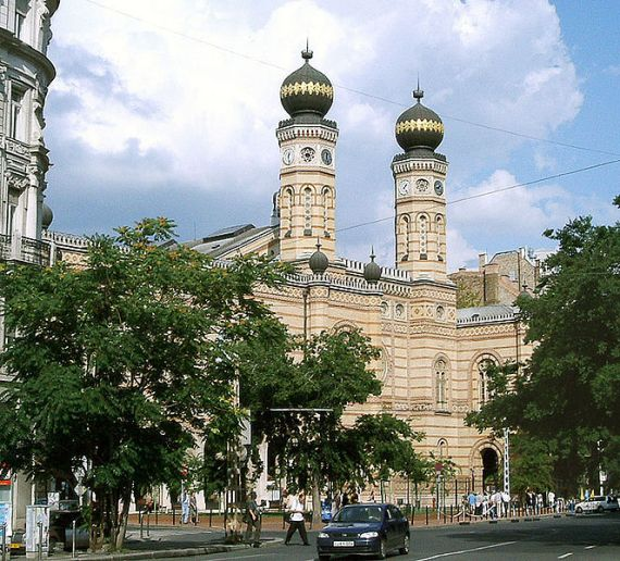 Крупнейшая синагога Европы в Венгрии