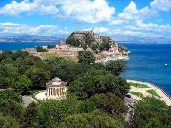 Керкира на острове Корфу