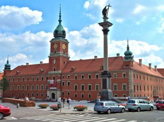 Варшава, Королевский дворец