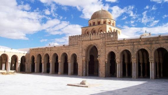 Тунис, большая мечеть Кайруна