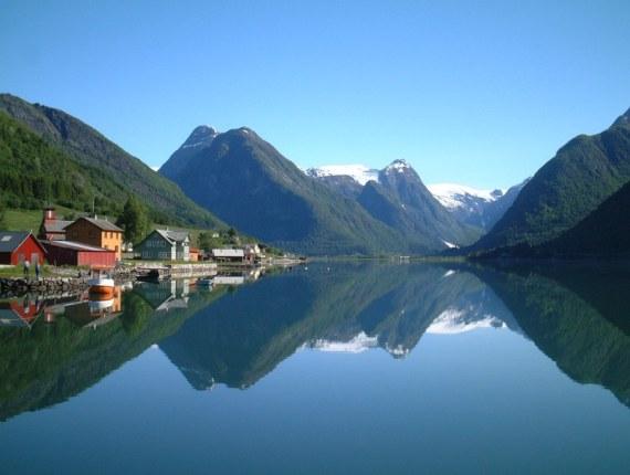 Норвегия - дивный край