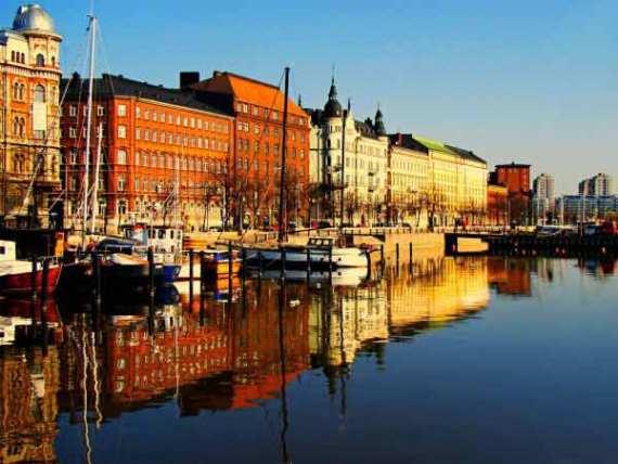 Хельсинки - красивый город
