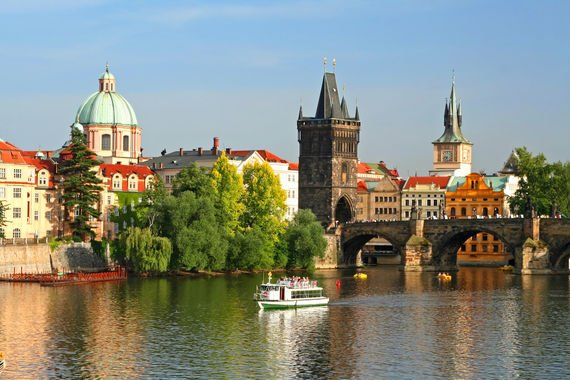 Прага: город свадеб и фестивалей