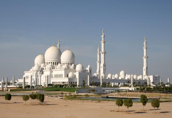 Столица ОАЭ Абу-Даби