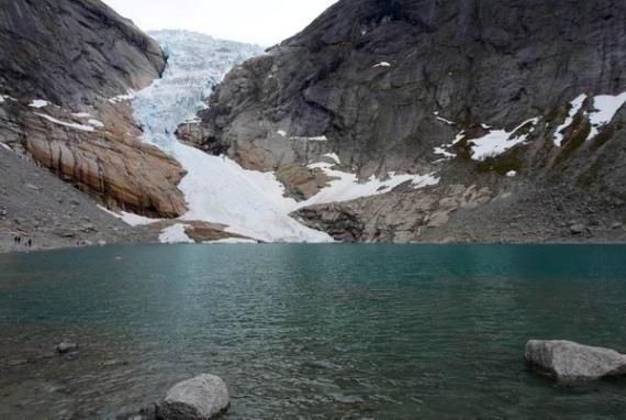 Самый большой в Европе ледник Юстедалсбре