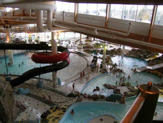 Аквапарк в Эспоо - самый большой в Скандинавии