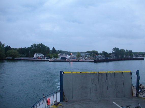 Вид на остров Маделин