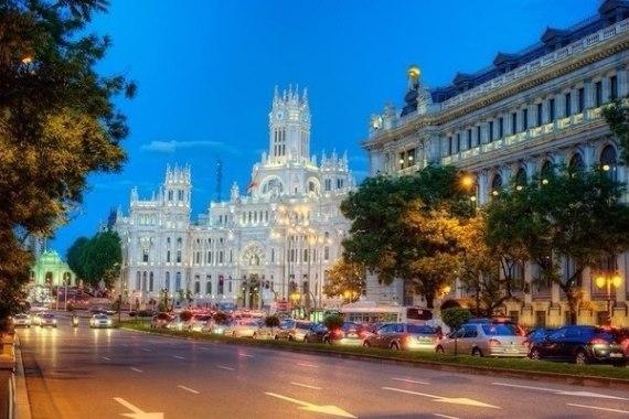 Зимний отдых в Испании, Мадрид