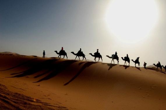 Значительную часть ОАЭ занимает пустыня