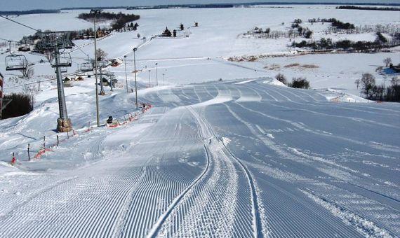 горнолыжный курорт «Водяники» в Украине
