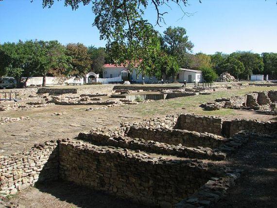Анапа, раскопки древней Горгипии