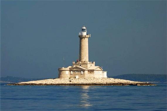 Маяк Верудица в Хорватии