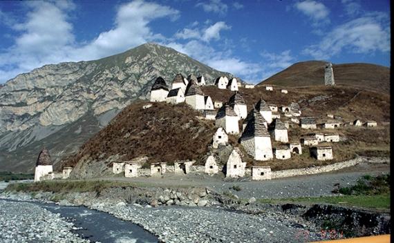 «Город мертвых» на Кавказе