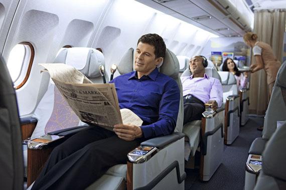 Как себя вести в самолете