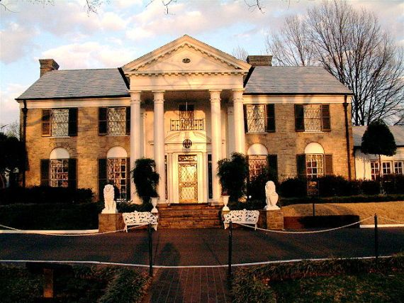Грейсленд - поместье Элвиса Пресли в США
