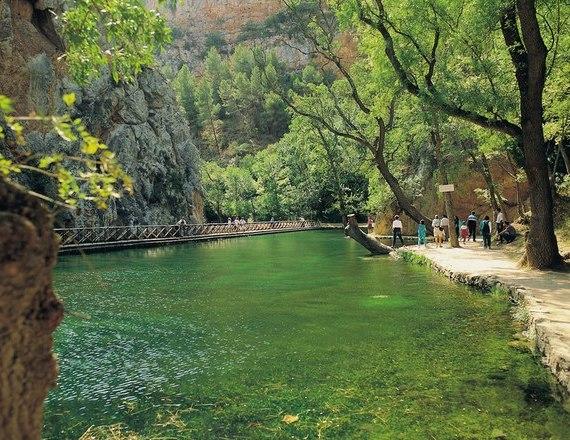 Природный парк Монастерио-де-Пьедра
