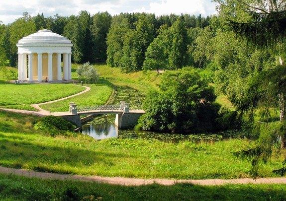 Английский парк в Павловске