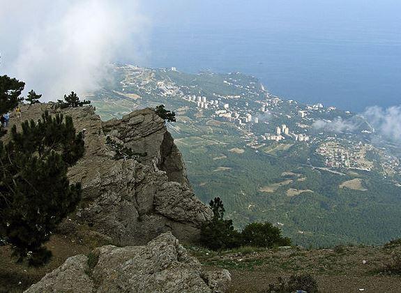 На вершине горы Ай-Петри