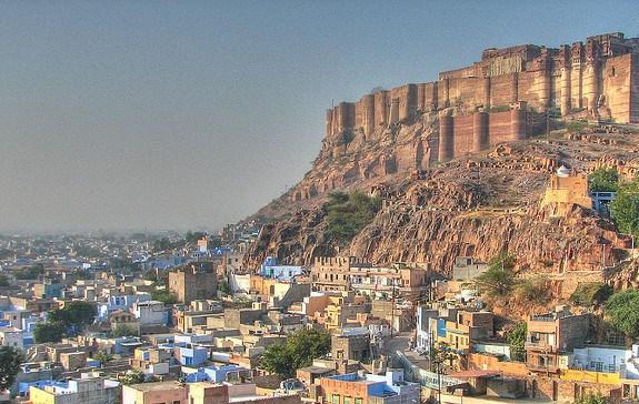Вид на Джодхпур и Форт Мехрангарх