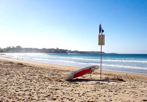Сидней - место для пляжного отдыха и серфинга