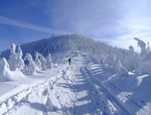 Чехия, горнолыжный курорт