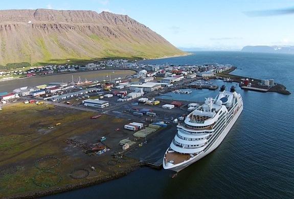 Круизный порт Исафьордюр