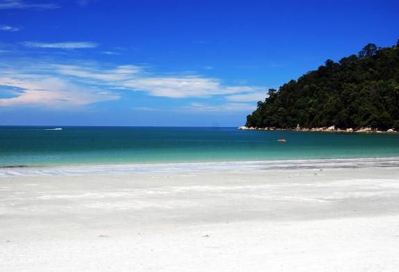 Пляж на острове Пангкор