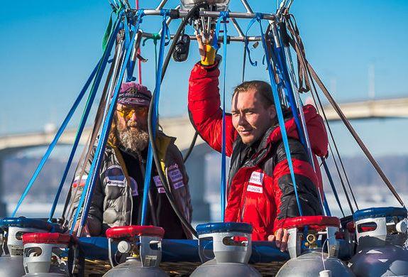 Федоров - российский рекордсмен воздухоплавания на шаре