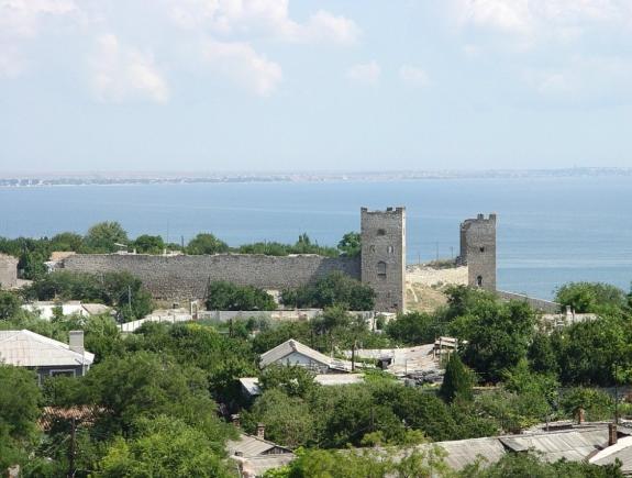 Феодосия, крепость