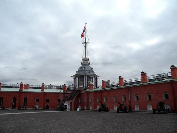 Петропавловская крепость внутри