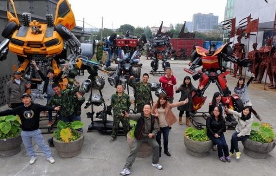 Китай, парк «Железные братья»
