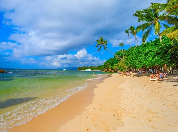 Доминикана, типичный пляж