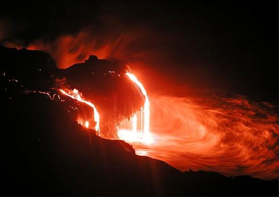 Вулкан Килауэа и другие активные вулканы, Гавайи