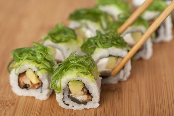 Суши - национальное японское блюдо