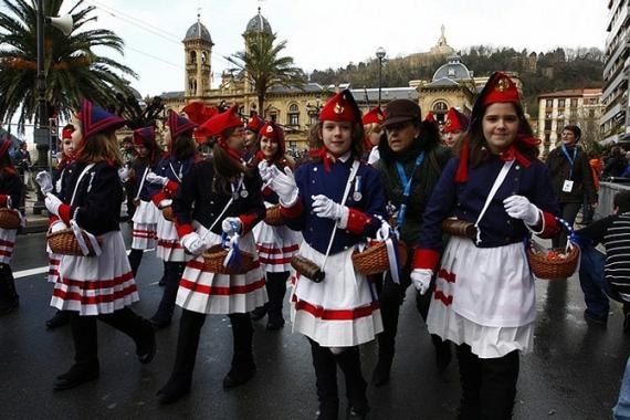 День Святого Себастьяна в Испании