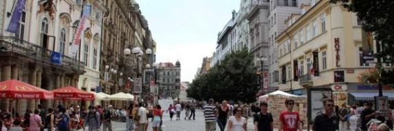 Шопинг в Праге: улица Na Prikope