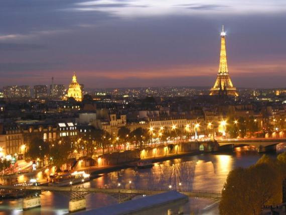 Париж красив, но отдых там не идеален