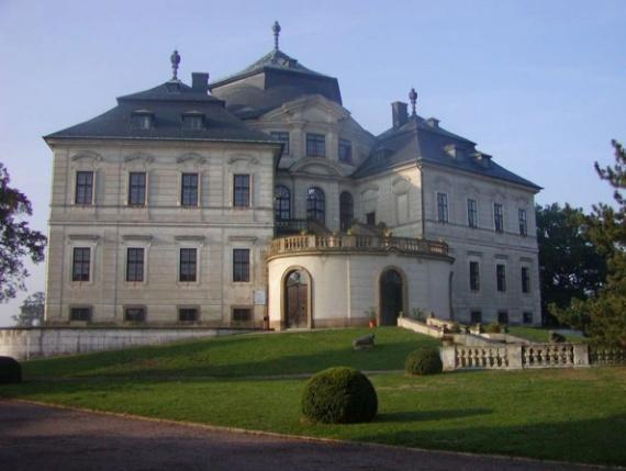 Хлумецкий замок в Чехии