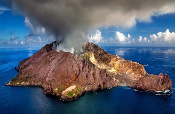 Новая Зеландия, вулкан