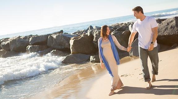 С беременностью - на море