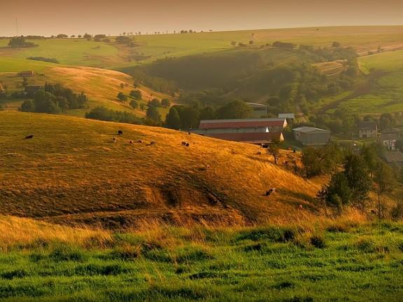 Молдавия, летний пейзаж