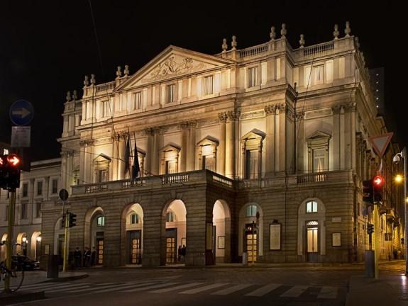 Милан, оперный театр Ла Скала