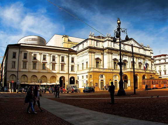 Оперный театр в Милане
