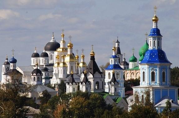 Купола церквей Арзамаса