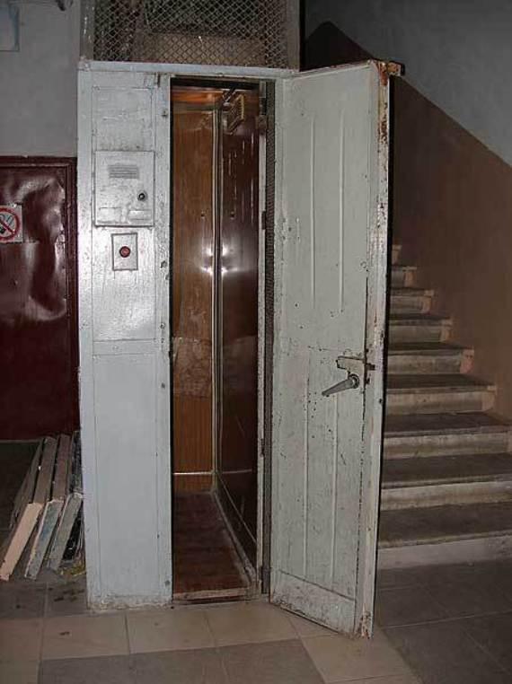 Генеральский лифт в Киеве