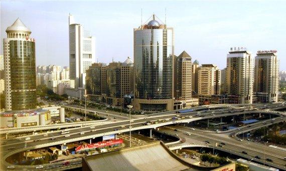 Пекин - огромный мегаполис