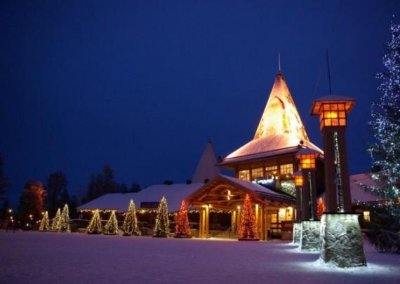 Офис Санты в Финляндии