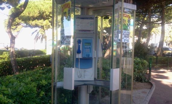 Во Франции ликвидируют таксофоны